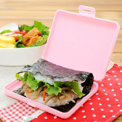 アーネスト お弁当グッズ 簡単おにぎらずキット&ケース ピンク