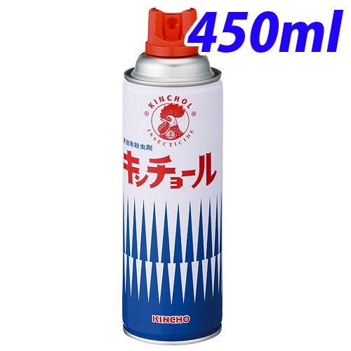 大日本除虫菊 殺虫剤 キンチョール 450ml
