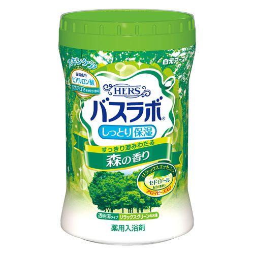 白元アース 入浴剤 HERSバスラボ ボトル 森の香り 680g