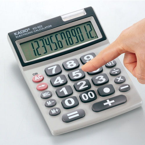 カクセー 電卓 シニアに優しい12桁 KD-922