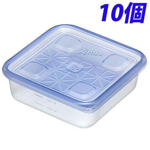 旭化成ホームプロダクツ 容器・ストッカー ジップロック コンテナー 正方形 700ml 10個入
