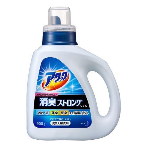 花王 洗濯用洗剤 液体 アタック 消臭ストロングジェル 本体 900g
