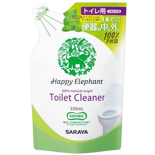 サラヤ トイレ用洗剤 ハッピーエレファント トイレクリーナー 詰替用 350ml