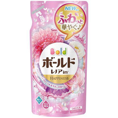 P&G 洗濯洗剤 ボールドジェル アロマティックフローラル&サボンの香り つめかえ用 715g
