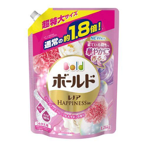 P&G 洗濯洗剤 ボールド アロマティックフローラル&サボンの香り つめかえ用 超特大 1.26kg