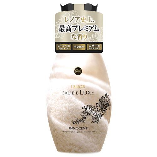 P&G 柔軟剤 レノアオードリュクス イノセントビジュの香り 本体 600ml