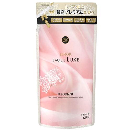 P&G 柔軟剤 レノアオードリュクス ルマリアージュビジュの香り 詰替 480ml