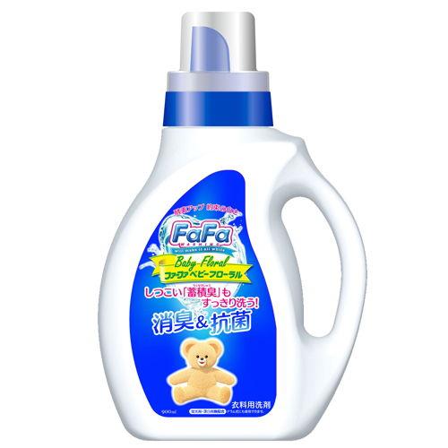 NSファーファ・ジャパン 洗濯洗剤 ファーファ ベビーフローラルの香り 本体 900ml