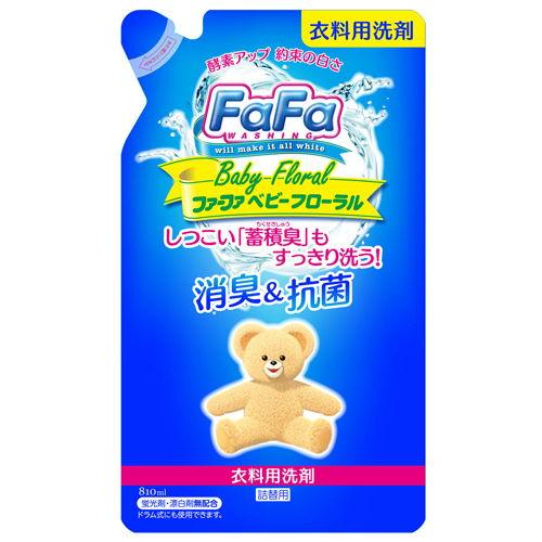 NSファーファ・ジャパン 洗濯洗剤 ファーファ ベビーフローラルの香り 詰替 810ml