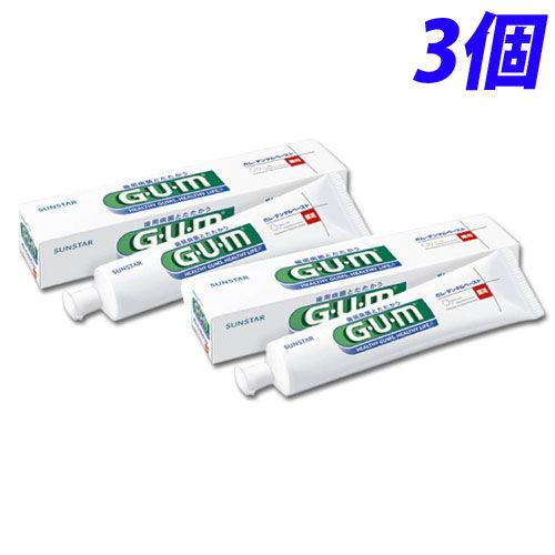 サンスター 歯磨き粉 GUM デンタルペースト 155g 3個