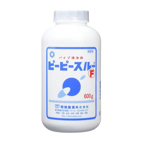 和協産業 排水口洗浄剤 ピーピースルー 顆粒状 パイプクリーナー 業務用 600g