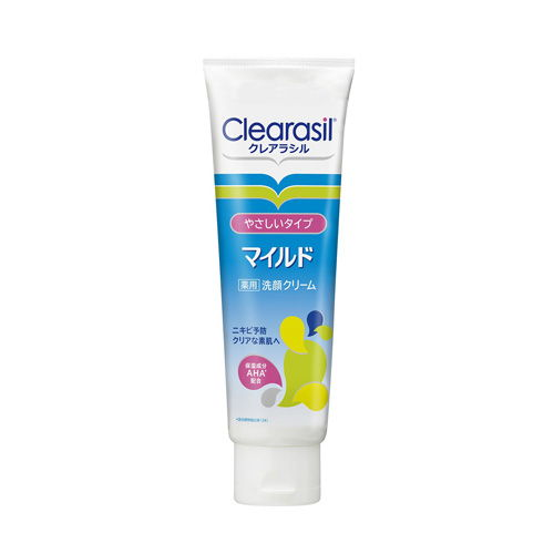 レキットベンキーザー・ジャパン クレアラシル 薬用洗顔フォーム マイルドタイプ 120g