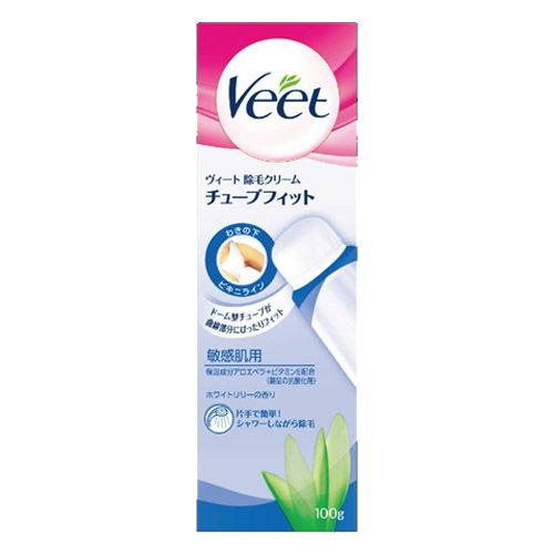 レキットベンキーザー・ジャパン ヴィート 除毛クリームチューブフィット 敏感肌用 100g