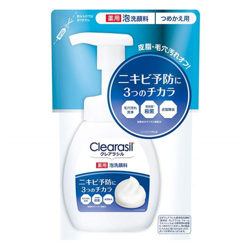 レキットベンキーザー クレアラシル 薬用 泡洗顔フォーム 10x 詰替 180ml