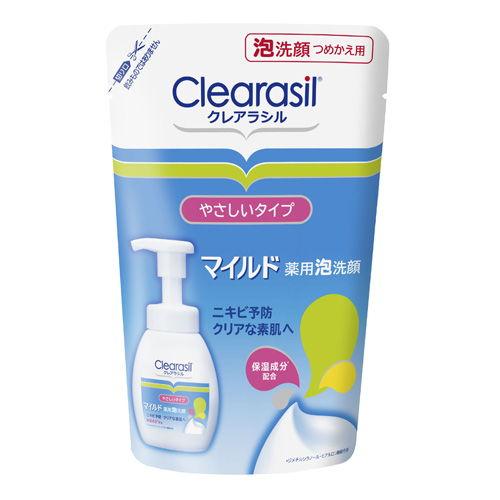 レキットベンキーザー・ジャパン クレアラシル 薬用泡洗顔フォーム マイルド 詰替 180ml