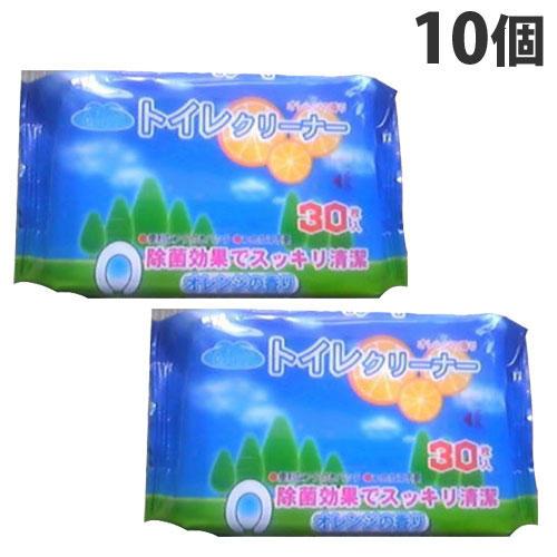 昭和紙工 オアシス トイレクリーナー 30枚 10個
