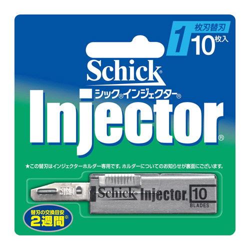 シック カミソリ インジェクター 1枚刃 替刃 10枚