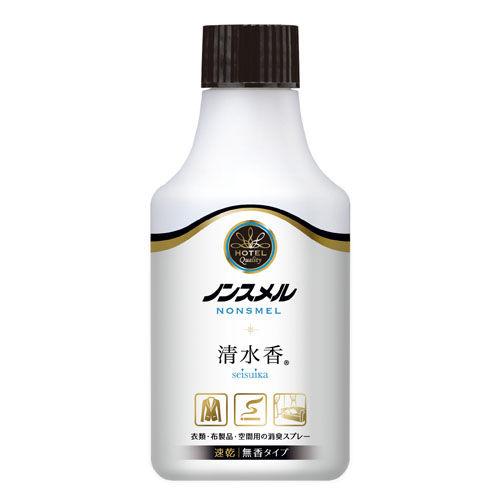 白元アース ノンスメル 清水香 衣類・布製品・空間用スプレー 無香 付替 300ml