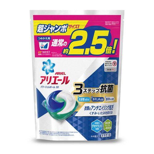 P&G 洗濯洗剤 アリエール パワージェルボール3D 詰替 超ジャンボサイズ