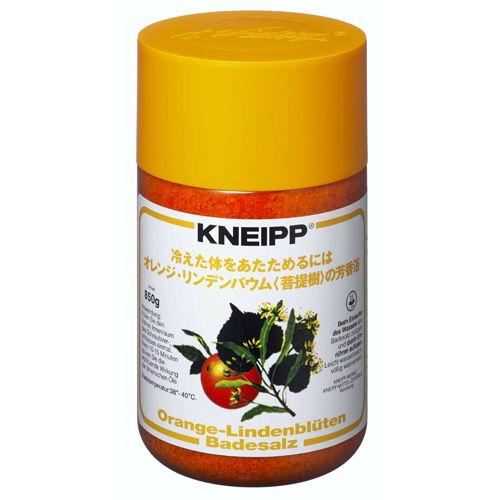 クナイプジャパン 入浴剤 クナイプ(KNEIPP) バスソルト オレンジ・リンデンバウム 850g