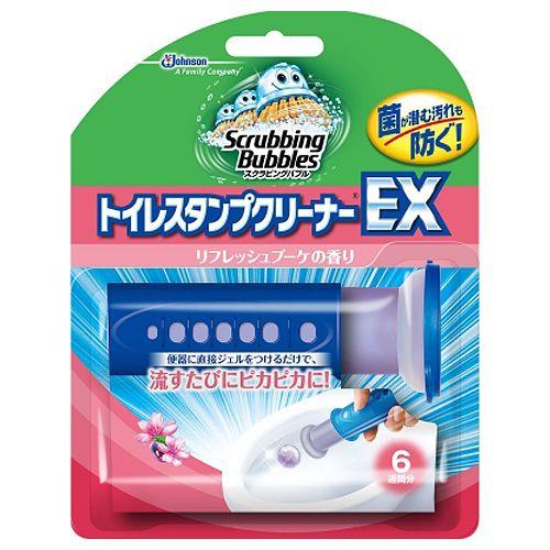 ジョンソン トイレ洗浄剤 スクラビングバブル トイレスタンプクリーナーEX リフレッシュブーケ 本体