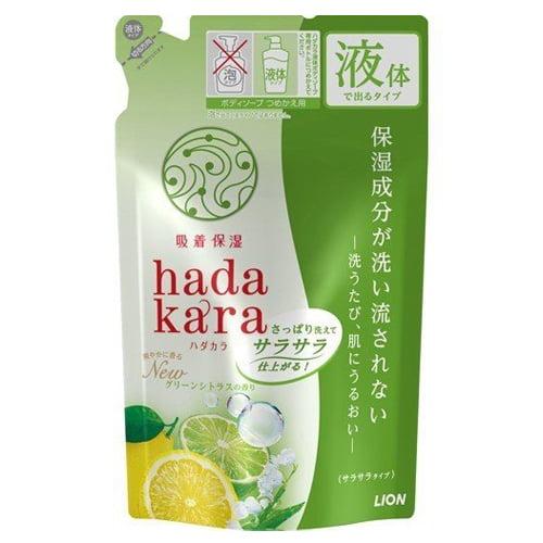 ライオン HADAKARA ボディソープ 保湿+サラサラ仕上がり 詰替 340ml