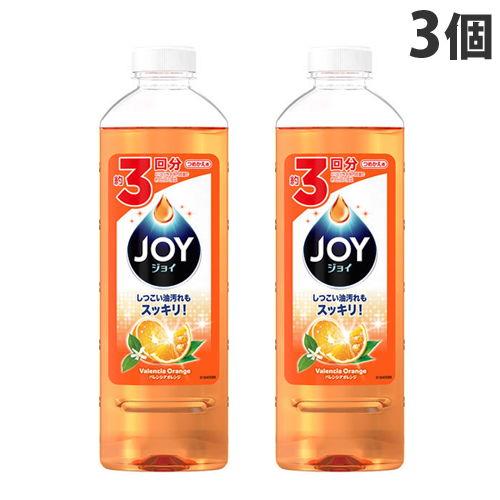 P&G 食器用洗剤 ジョイ ジョイコンパクト バレンシアオレンジの香り 詰替用 440ml ×3個