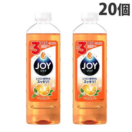 P&G 食器用洗剤 ジョイ ジョイコンパクト バレンシアオレンジの香り 詰替用 440ml×20個
