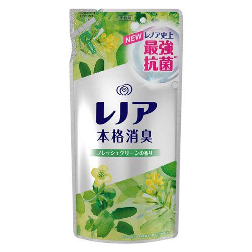P&G 柔軟剤 レノア本格消臭 フレッシュグリーンの香り 詰替 450ml