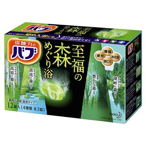 花王 バブ 至福の森めぐり浴 12錠入 【医薬部外品】