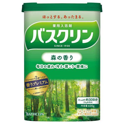 バスクリン 森の香り 600g 【医薬部外品】