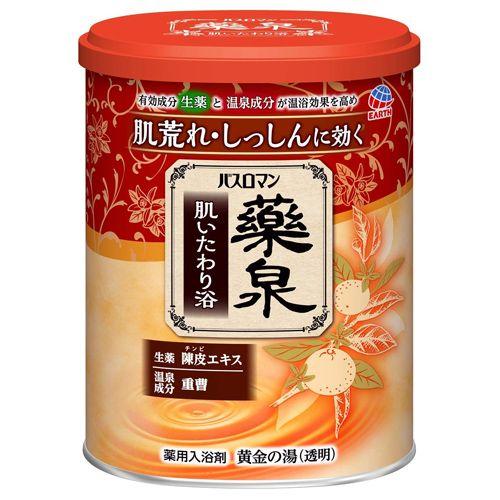 アース製薬 バスロマン 薬泉 肌いたわり浴 750g 【医薬部外品】
