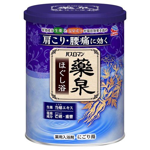 アース製薬 バスロマン 薬泉 ほぐし浴 750g 【医薬部外品】