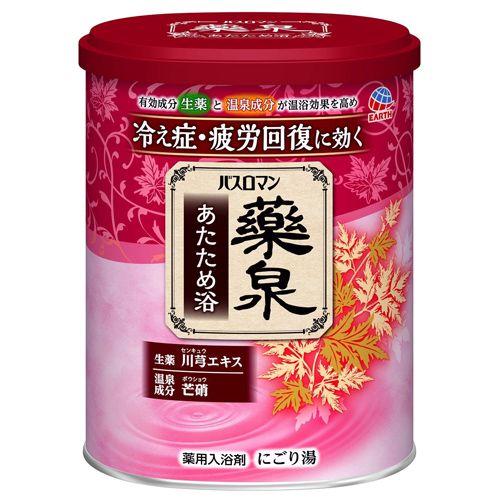 アース製薬 バスロマン 薬泉 あたため浴 750g 【医薬部外品】