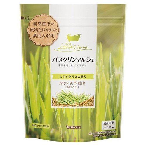 バスクリン 入浴剤 バスクリンマルシェ レモングラスの香り 【医薬部外品】