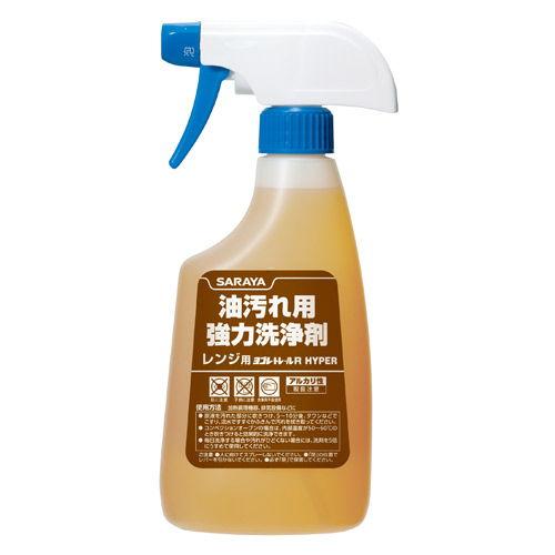 サラヤ 油汚れ用洗剤 ヨゴレトレールR HYPER 泡スプレー 500ml