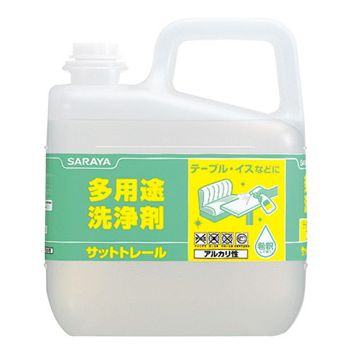 サラヤ 多用途洗剤 サットトレール 5kg