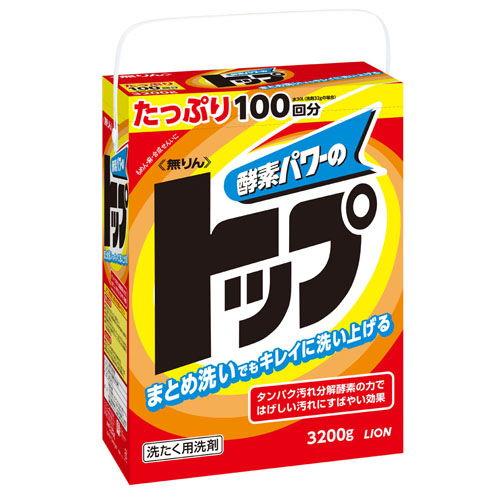 ライオン 洗濯洗剤 粉末 無リントップ 特大 3.2kg