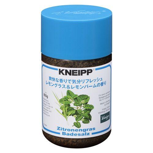 クナイプジャパン 入浴剤 クナイプ(KNEIPP) バスソルト レモングラス&レモンバームの香り 850g