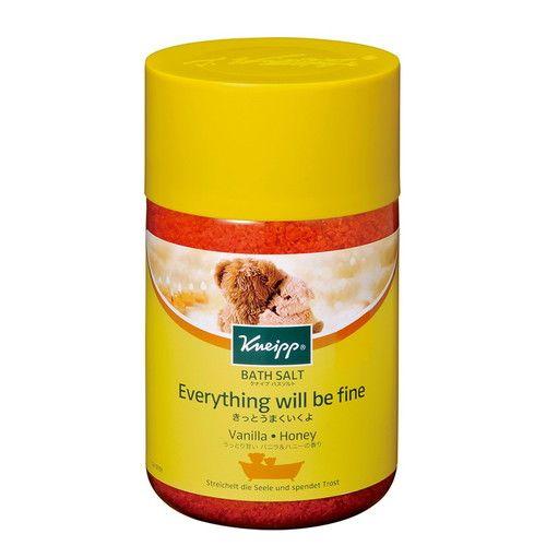クナイプジャパン 入浴剤 クナイプ(KNEIPP) バスソルト バニラ&ハニーの香り 850g