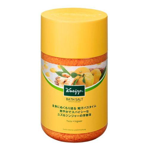クナイプジャパン 入浴剤 クナイプ(KNEIPP) バスソルト ユズ&ジンジャーの香り 850g