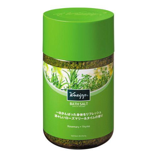 クナイプジャパン 入浴剤 クナイプ(KNEIPP) バスソルト ローズマリー&タイムの香り 850g
