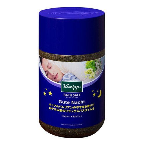 クナイプジャパン 入浴剤 クナイプ(KNEIPP) バスソルト グーテナハト ホップ&バレリアンの香り 850g
