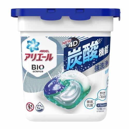 P&G 洗濯洗剤 アリエール バイオサイエンス ジェルボール4D 本体 12個入