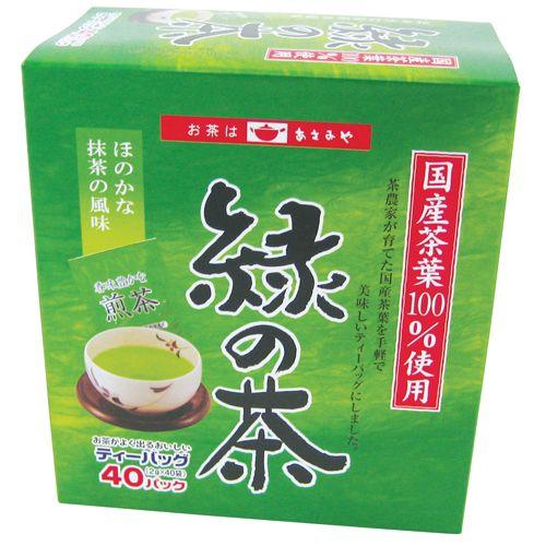 緑の茶ティーバッグ 2g 40p