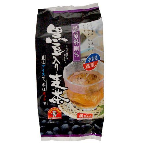 黒豆入り麦茶 ティーバッグ 10g 40袋
