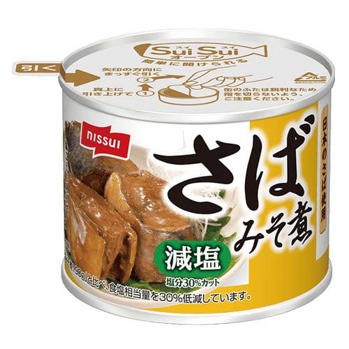 日本水産 スルッとふたさば みそ煮 減塩 190g