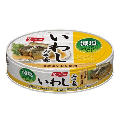 日本水産 いわしみそ煮 減塩 100g