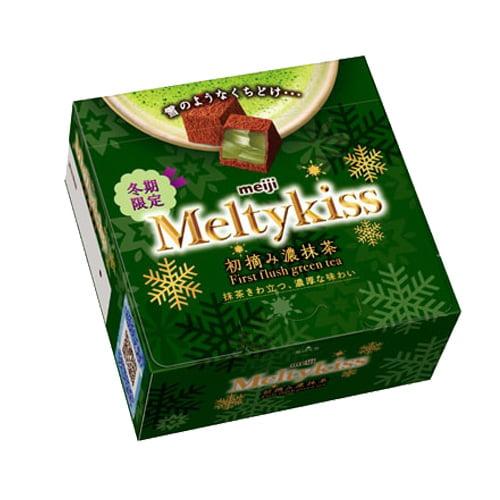 明治 メルティーキッス 初摘み濃抹茶 56g