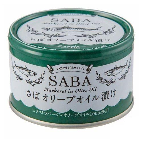 富永貿易 トミナガさば オリーブオイル缶詰 150g